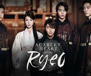 scarlet heart ryeo, kdrama, and iu image