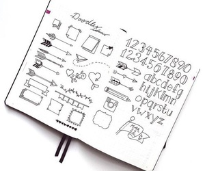 ideas, bullet journal, and banner image