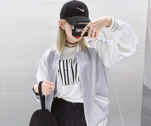 cap, outfits, and style image