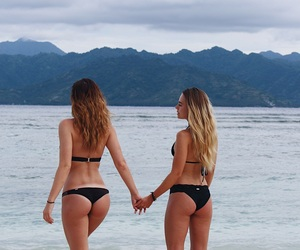 bali, beach, and best friends image