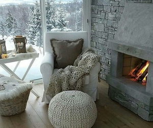 home, cozy, and winter image