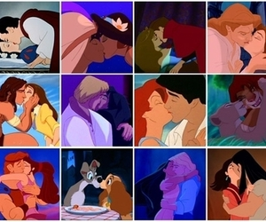 aladdin, lady and the tramp, and little mermaid image