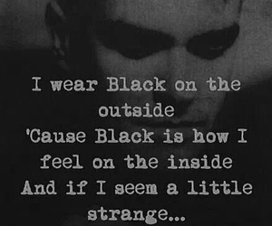 the smiths, black, and quotes image