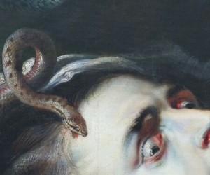 art, medusa, and painting image