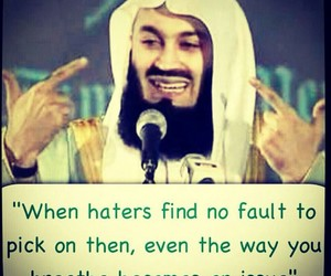 haters, islam, and quote image