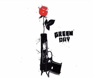 green day, music, and pistol image
