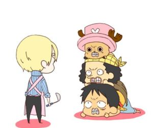 luffy, one pice, and usoop image