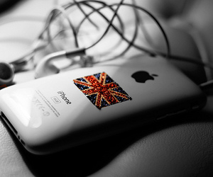 iphone, apple, and england image