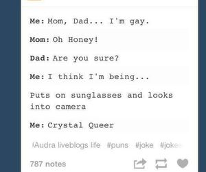 dad, funny tumblr post, and gay image