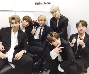 jin, bts, and 남준 image