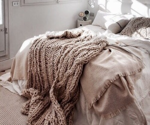 brown, bed, and bedroom image