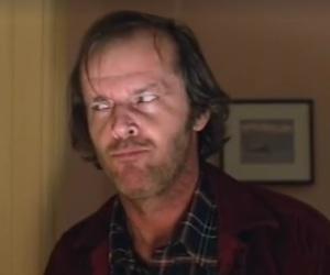 jack nicholson, suspicious, and murder image