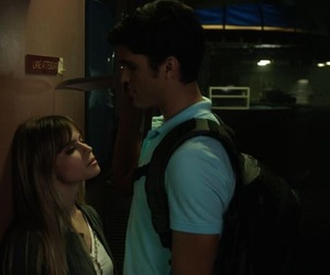 carlson young, tom maden, and scream the tv series image