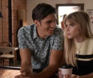 carlson young, icon, and scream image