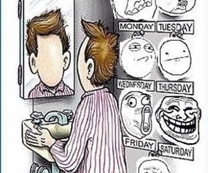 face, funny, and lol image