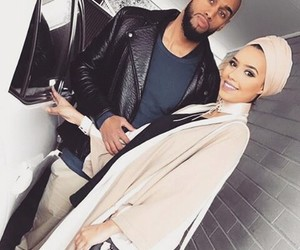 couple, girl, and muslim image