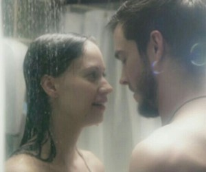 JAKe, katie, and shower image