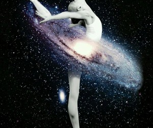 dance, galaxy, and ballet image