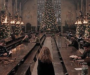 christmas and harry potter image