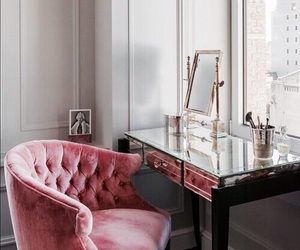 pink, home, and room image