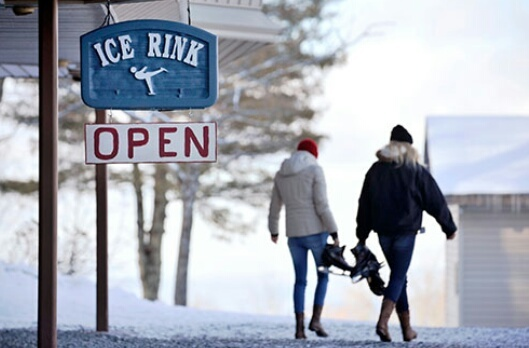 ice, open, and rink image
