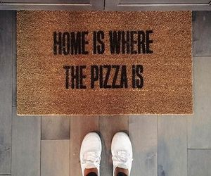 grunge, hipster, and pizza image