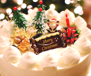 christmas, cake, and merry christmas image