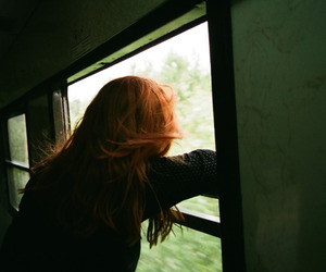 color, girl, and grunge image