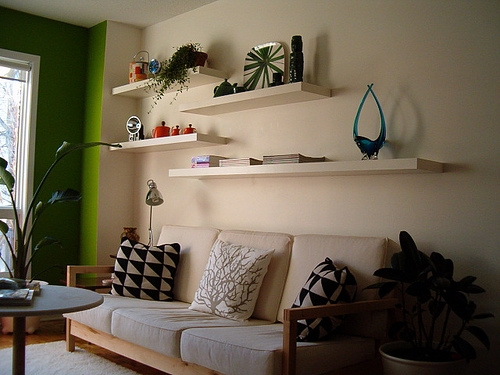 apartmenttherapy, decoration, and shelves image