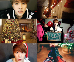 aesthetic, christmas, and bts image