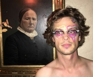 matthew gray gubler, art, and criminal minds image