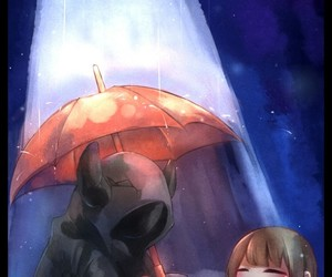 frisk, undertale, and undertale waterfall image