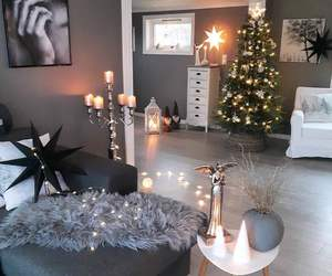 christmas, home, and lights image
