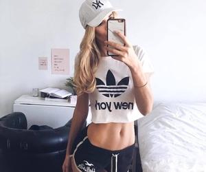 adidas and fitness image