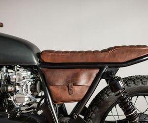 motorcycle, motorbike, and vintage image