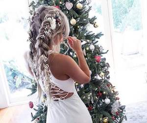 christmas and hair image