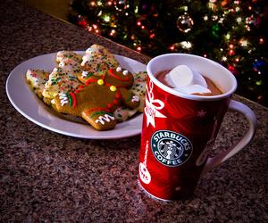 chocolate, Cookies, and hot chocolate image