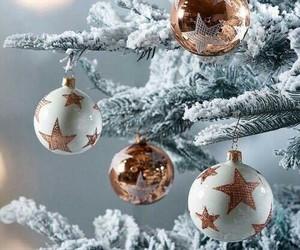 decor, holiday, and xmas+tree image