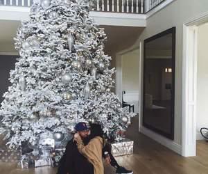 christmas, kardashians, and kylie jenner image
