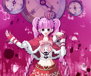 anime girl, one piece, and perona image