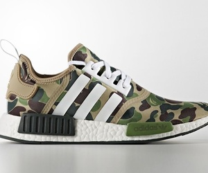 adidas, sneakers, and bape image
