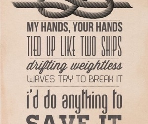 one direction, strong, and Lyrics image