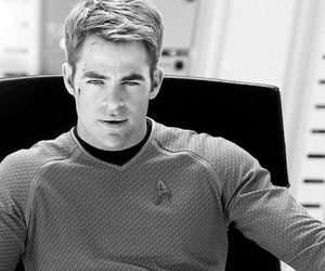 star trek, actor, and chris pine image