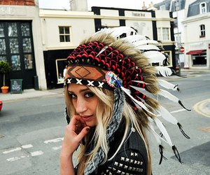 head dress, tribal, and cultural appropriation image
