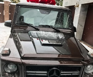 car, mercedes, and gift image