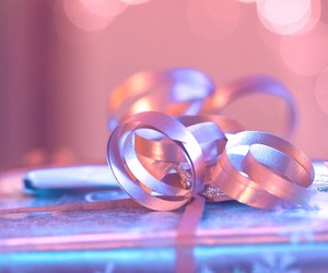 background, gift, and light image
