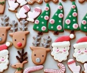 christmas, Cookies, and natal image