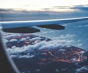 airplane, beautiful, and love image