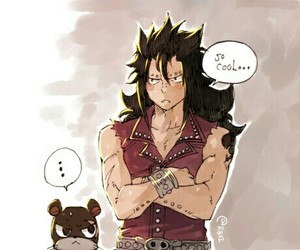 anime, gajeel, and manga image