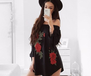 beauty, classy, and clothing image